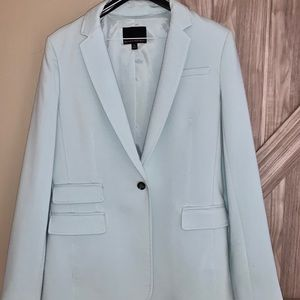 Women's Banana Republic jacket in light teal/aqua